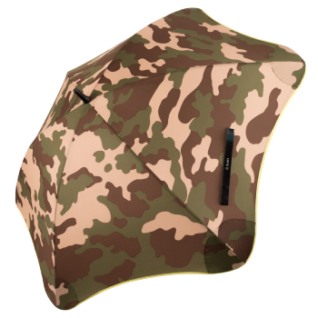 Blunt Classic Umbrella - Camo Print & Yellow Trim