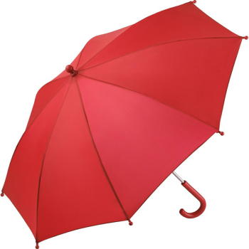 Performance Range Children's Walking Length Umbrella by Fare - Red