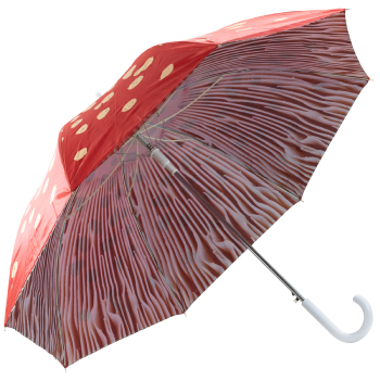 Toadstool Umbrella by Fallen Fruits