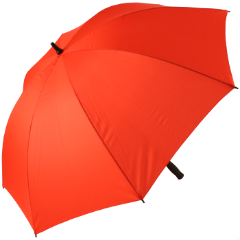 Fibreglass Golf Umbrella - Red