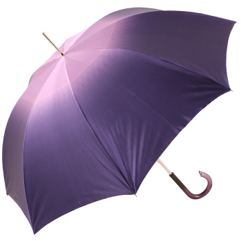 Dahlia Violet Double Canopy - Luxury Ladies Umbrella by Pasotti