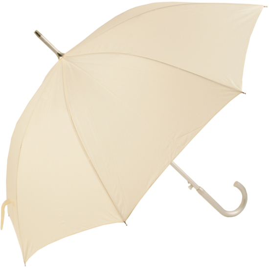 Colours - Plain Coloured Umbrella - Ivory