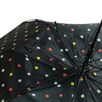 Multi Spot Wind Resistant Walking Length Umbrella