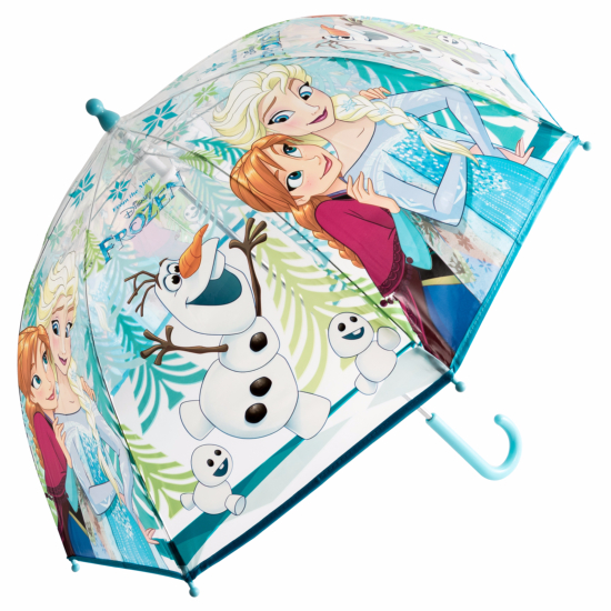 Disney Frozen Children's See-Through Dome Umbrella