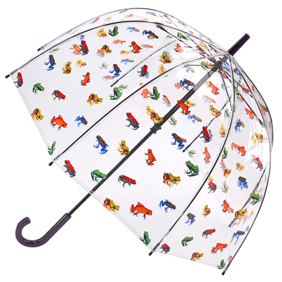 Fulton Birdcage Clear Dome Umbrella - In The Pond