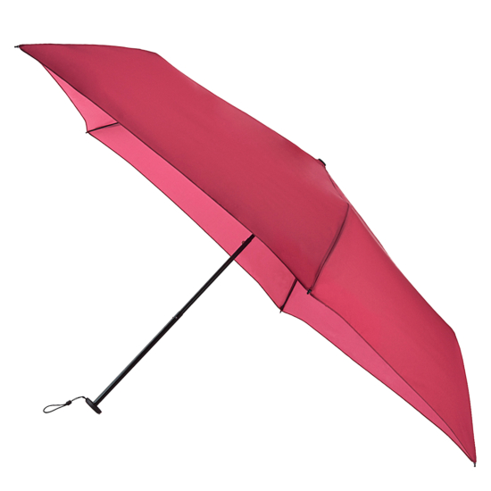 Fulton Aerolite UVP 50+ Folding Umbrella - Dark Red