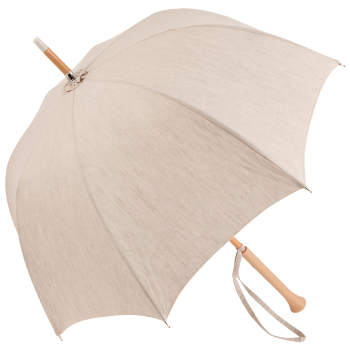 Elise - UVP Ivory Deep Domed Sun Umbrella by Pierre Vaux