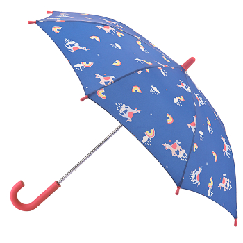 Joules Junior Kids Umbrella - Head in the Clouds