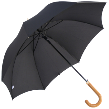 Fulton Consul - Executive Black Walking Length Umbrella for Gents