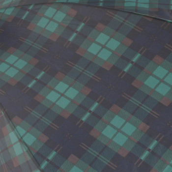 Tartan Golf Umbrellas - Green/Navy (as BlackWatch)