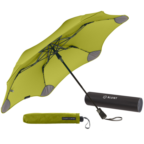 Blunt XS Metro Folding Umbrella - Guacamole
