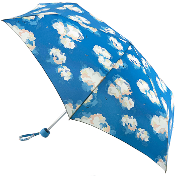 Cath Kidston Minilite Folding Umbrella - Clouds