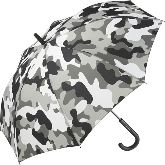 Performance Automatic Opening Walking Length Camouflage Umbrella - Winter