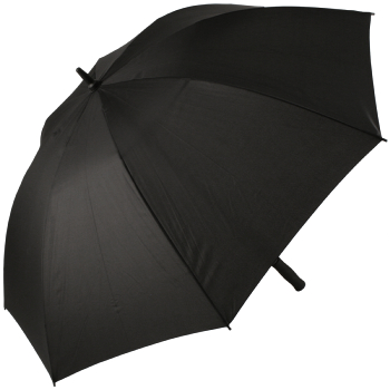 Fibreglass Golf Umbrella - Black