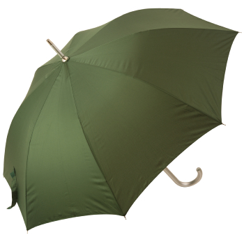 Colours - Plain Coloured Umbrella - Dark Green