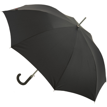 M&P Black Sport Handled Gents Auto Opening Long Umbrella with Sleeve