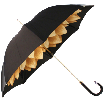Lotus Gold Double Canopy Umbrella by Pasotti