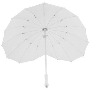 Soake Heart Umbrella - White