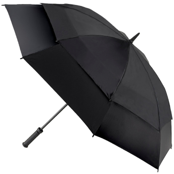 Fulton Stormshield Golf Umbrella - Black