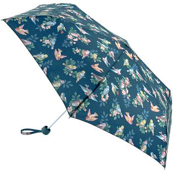 Cath Kidston Minilite Folding Umbrella - Spaced Spring Birds
