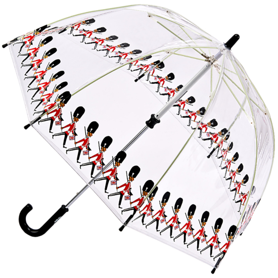 Fulton Funbrella Birdcage - Guards - Clear Childrens Umbrella