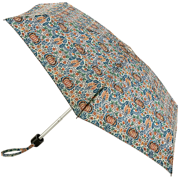 Morris & Co Tiny by Fulton - Lightweight Folding Umbrella - Little Chintz