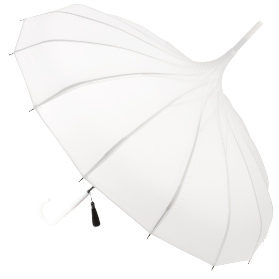 Classic Pagoda Umbrella from Soake - White