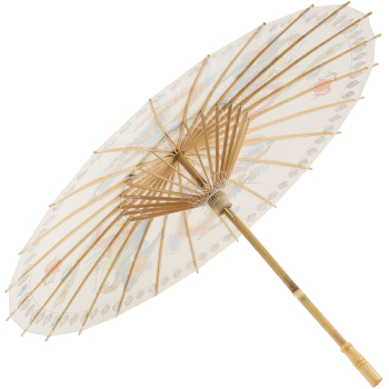 Chinese Paper and Bamboo Parasol - Chinese Dragon