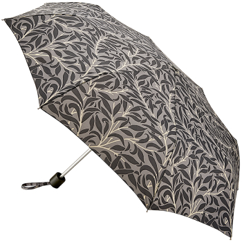 Morris & Co Minilite - Lightweight Folding Umbrella - Willow Bough Pure