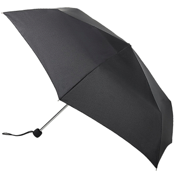 Fulton Superslim Mini Folding Umbrella - Black