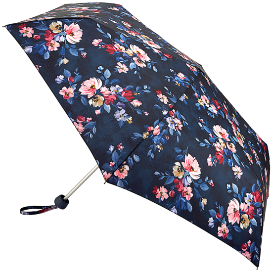 Cath Kidston Minilite Folding Umbrella - Paintbox Flowers