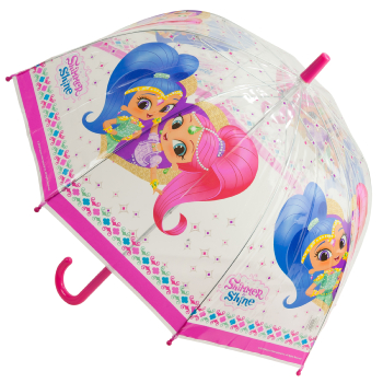 Nickelodeon's Shimmer & Shine Children's See-Through Dome Umbrella