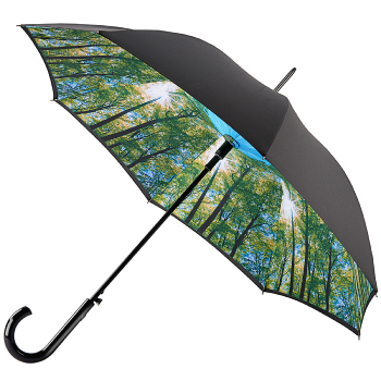 Fulton Bloomsbury Double Canopy Umbrella - Canopy Sunburst