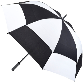 Fulton Stormshield Golf Umbrella - White/Black
