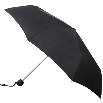 Fulton Minilite Folding Umbrella - Black