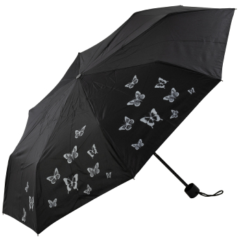 Scattered Butterflies Manual Opening Folding Umbrella