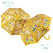 Colour Changing Childrens Umbrella - Rainbow Fairy