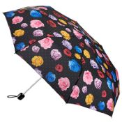 Fulton Minilite Folding Umbrella - Flower Bomb