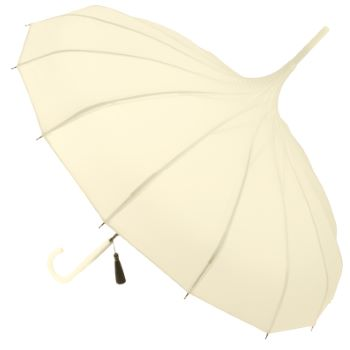 Classic Pagoda Umbrella from Soake - Cream