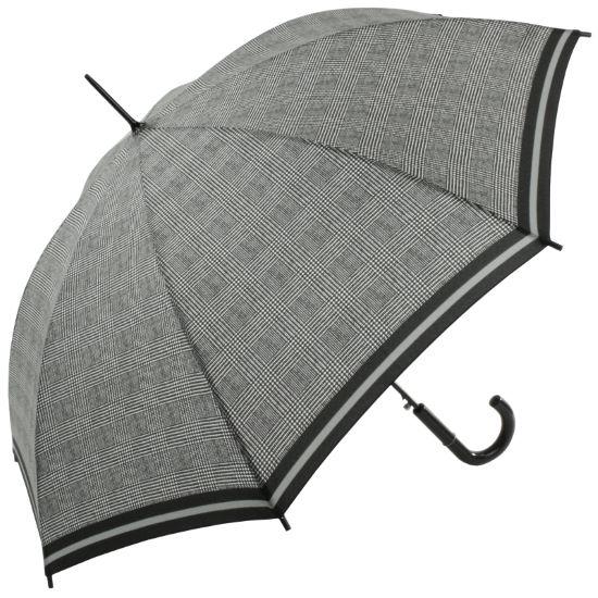 Riva Auto Prince of Wales Stripe - Petite automatic walking length umbrella