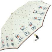 Le Parapluie Francais - UVP Auto Open Folding Umbrella - Poodles