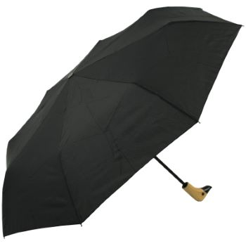 Susino Duck Folding Umbrella - Black