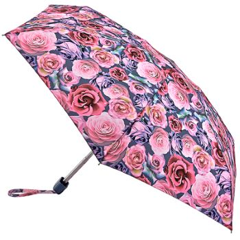 Fulton Tiny Folding Umbrella - Powder Rose
