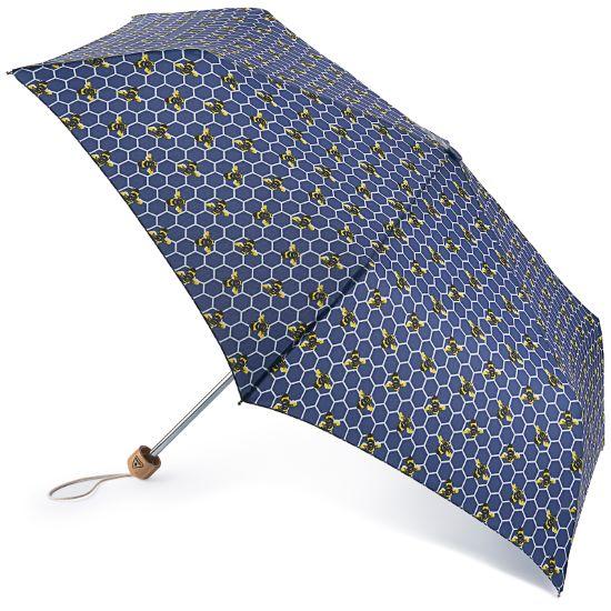 Fulton Eco Planet Manual Opening Folding Umbrella - Beehive