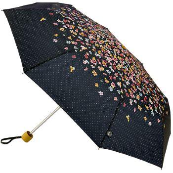 Joules Minilite Folding Umbrella - Cascading Floral