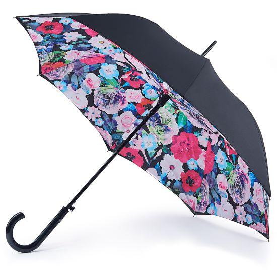 Fulton Bloomsbury Double Canopy Umbrella - Vibrant Floral