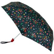 Lulu Guinness Tiny Folding Umbrella - Jewel Lip