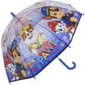Nickelodeon's Paw Patrol Children's Dome Umbrella - Blue