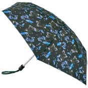 Fulton Tiny Folding Umbrella - Blue Bird