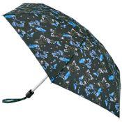 Fulton Tiny Folding Umbrella - Blue Bird